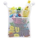 Red de malla, bolsa de almacenamiento, organizador de juguetes, para cuarto de baño y bañera,...