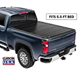 Gator FX Hard Quad-Fold Truck Bed Tonneau Cover | 8828329 | Fits 2015 - 2020 Ford F-150 5' 5' Bed | Made in the USA