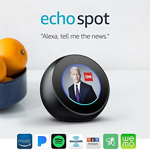 Product Image 11: Echo Spot - Smart Alarm Clock with Alexa - Black
