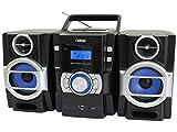 NAXA Electronics Portable MP3\CD Player with PLL FM Radio (NPB-429)