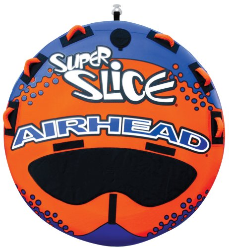 Airhead Super Slice | 1-3 Rider Towable Tube for Boating