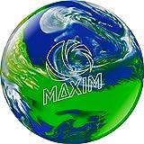 Ebonite Maxim Bowling Ball, Cool Water, 8-Pound