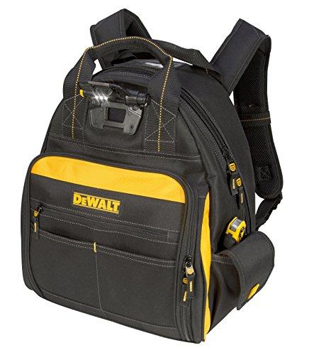 DEWALT DGL523 Lighted Tool Backpack Bag,...