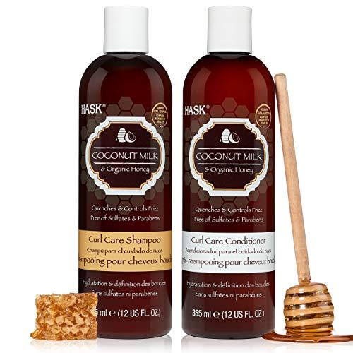 HASK COCONUT MILK + HONEY Hydrating Shampoo +...