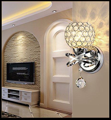 BDD Master Bedroom Lampada da Parete Soggiorno Parquet Semplice Scala a Chiocciola Lampada da Parete...