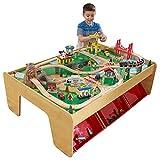 KidKraft Montagne cascade 17850 Ensemble Table Circuit de Train en bois...