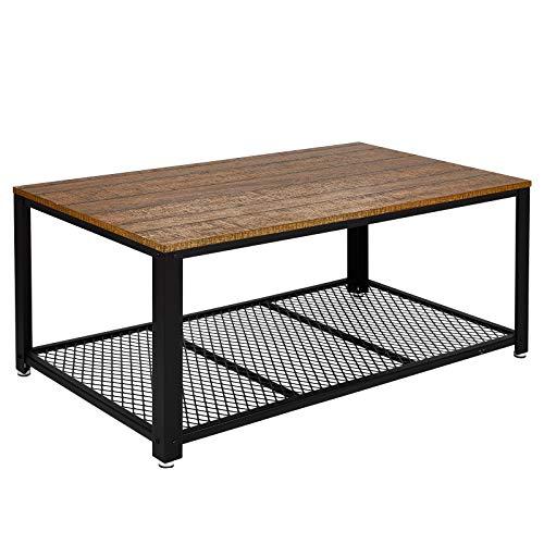 Meerveil Tavolino da salotto moderno per divano vintage tavola salotto, tavoli e tavolini vintage da...