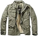 Brandit, M65 Britannia Veste d'hiver pour Hommes, Olive L
