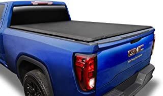 Tyger Auto T1 Soft Roll Up Truck Bed Tonneau Cover Compatible with 2014-2018 Chevy..