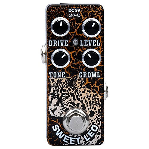 Xvive® Overdrive Electric Guitar Effects Pedal - Sweet Leo O2