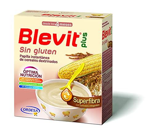 Blevit Plus Superfibra Sin Gluten - Papilla de Cereales para