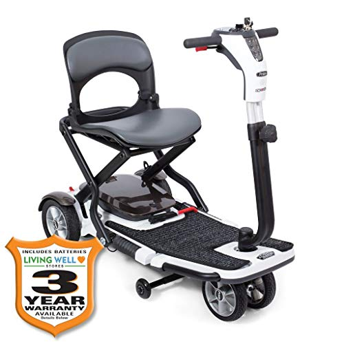 Pride Go-Go Folding Travel Compact Scooter w/ Avail Ext Warr