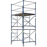 Metaltech Saferstack Complete Fixed Scaffold Tower - 5ft.W x 7ft.D x 10ft.H, 2-Sections, Model Number M-MFT5710A