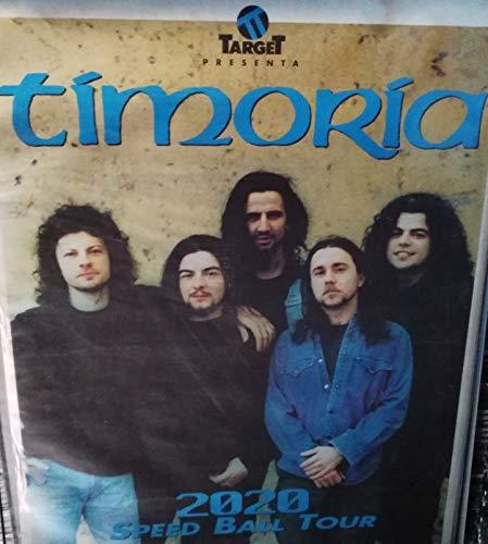 Timoria Speedball 2020 Tour Poster