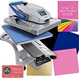 Hotronix Fusion Swing Away Heat Press Bundle 16' x 20' with Updated...