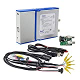 Zoxelect 4 in 1 Oscilloscope + Signal Generator + Logic Analyzer + Data Logger Function, C520X Dual Channles 20MHz Bandwith, 50M S/s Sampling Rate
