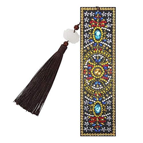 YanHeMingKeJi - Segnalibro magnetico con nappe in pelle, per fai da te, idea regalo Size B