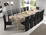 Home Innovation - Table Console Extensible rectangulaire avec rallonges,...