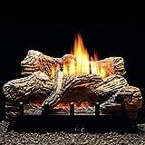 Flint Hill 18' Propane LP Manual Gas Log Fireplace Insert