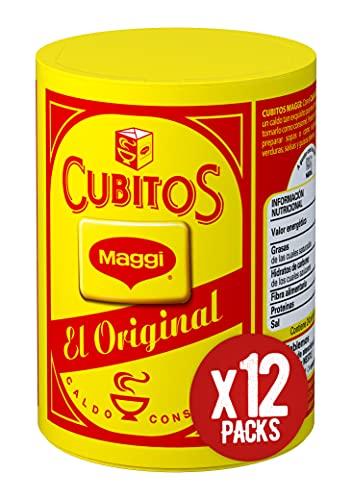 Maggi Pastillas para Caldo en Cubitos - Caldo Deshidratado -