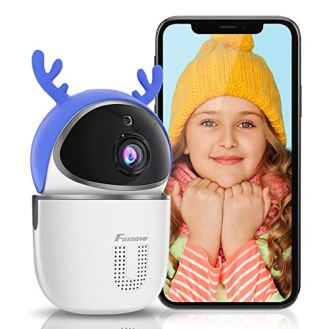 Baby-Monitor-Camera-1080P-Indoor-FOXNOVO-WiFi-Camera-for-Home-Security-Two-Way-Talk-HumanMotion-Detection-Night-Vision-SDCloud-Storage-Pet-Camera-with-app-Indoor-Camera-for-DogCatNannyElder