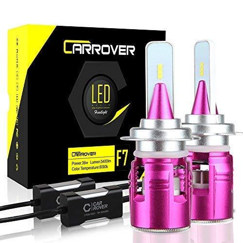 CAR ROVER Lampadine H7 LED 10800LM Fari Abbaglianti o Fendinebbia per Auto, Kit Sostituzione per...