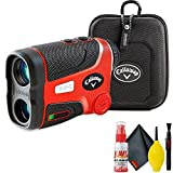 Callaway Tour S Golf Laser Rangefinder (Slope Version) with Cleaning Kit and Extended Warranty