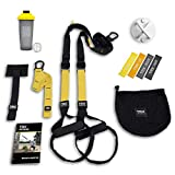 TRX All In One Home Gym Bundle: Includes All-In-One Suspension Trainer, Indoor & Outdoor Anchors,...