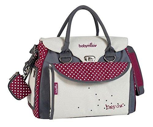 Babymoov Baby Style Chic luiertas | Met vele vakken en accessoires | Verstelbare comfortabele schouderriem