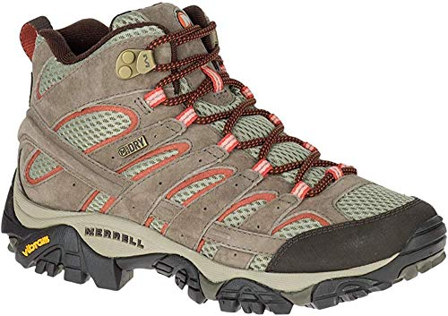 Merrell Women's Moab 2 Mid Waterproof Hiking Boot, Bungee Cord, 10.5 M US