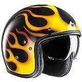 HJC(エイチジェイシー) バイクヘルメット ジェット イエロー (サイズ:M) FG-70s ARIES(アリエス) HJH153