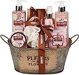 BRUBAKER Cosmetics - Coffret de bain & douche - Noix de coco/Fraise - 11 Pièces -...