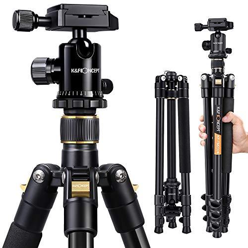 K&F Concept TM2324 Trépied pour Appareil Photo Reflex Canon, Nikon et...