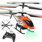 Remote Control Helicopter,VATOS RC Helicopter for Adults Kids 22 Mins Long Flight Time 3.5 Channel Altitude Hold Mini Helicopter with Gyro&LED Light High&Low 2 Speeds 2.4 GHz Indoor Flying Toys Gifts