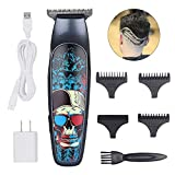Professional T-outliner Beard Trimmer Cosyonall CordlessHair Clipper Hair Edgers Hair Cutting Beard Shaver Mustache Grooming Kit for Barber Compact USB Rechargeable with 4 Guide Combs