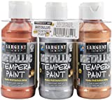 Sargent Art 17–68116Pack (metálico Tempera Paint Set