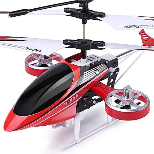 Mnjin 4.5CH Aereo in Lega Ricaricabile 2.4GHz Aereo per Aereo telecomandato Elicottero Drone Anti-collisione Resistente alle Cadute Aereo per aliante giroscopico Incorporato per Regalo per Bambini