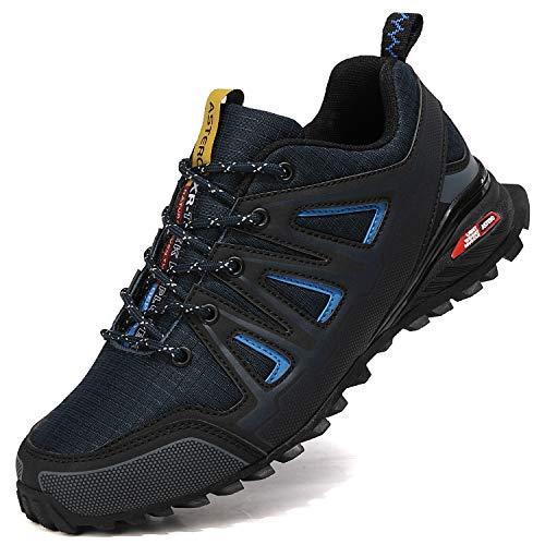 ASTERO Zapatillas de Deportes Hombre Running Zapatos para...