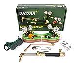 Victor Technologies 0384-2544 Medalist 250 System Medium Duty Cutting System, Propane/Natural Gas Service, G250-60-510LP Fuel Gas Regulator