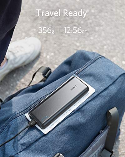 Product Image 1: Powerbank Anker Caricabatteria Portatile 2 Porte USB PowerCore 20100 – Batteria Esterna da 20100 mAh Ultra Compatto – Alta Capacità per Huawei, Samsung, iPhone X/8/8 Plus, Xiaomi e Altri