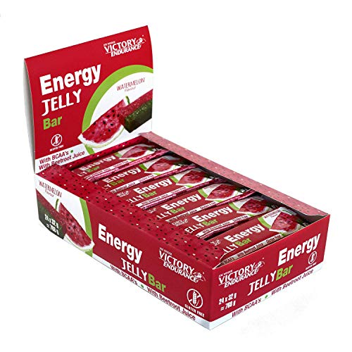 Energy Jelly Bar Sandía. 32g x 24 barritas Aportan vitamina