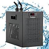 Poafamx Aquarium Water Chiller 42gal Fish Tank Cooling System for Home Fish Coral Shrimp Farming 110V with pump