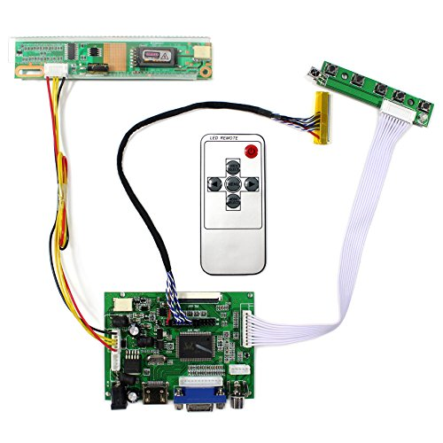 HDMI + VGA + 2AV placa de regulador LCD de entrada para B141