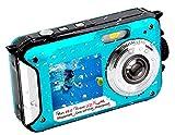 Underwater Camera FHD 2.7K 48 MP Waterproof Digital Camera Selfie Dual Screen Full-Color LCD...
