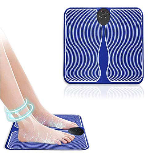 Foot Massager Machine - Deep Kneading Massage - Circulation, Feet Legs, Plantar Fasciitis, Neuropathy Chronic Nerve Pain Therapy Spa Gift