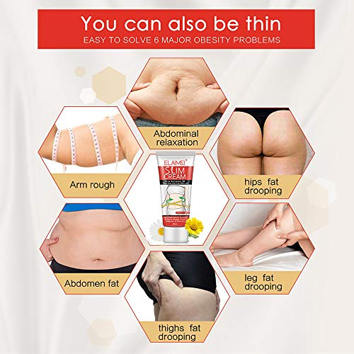 Hot Cream (2 Pack), Professional Cellulite Slimming & Firming Cream, Body Fat Burning Massage Gel, Slim Serum for Shaping Waist, Abdomen and Buttocks 6