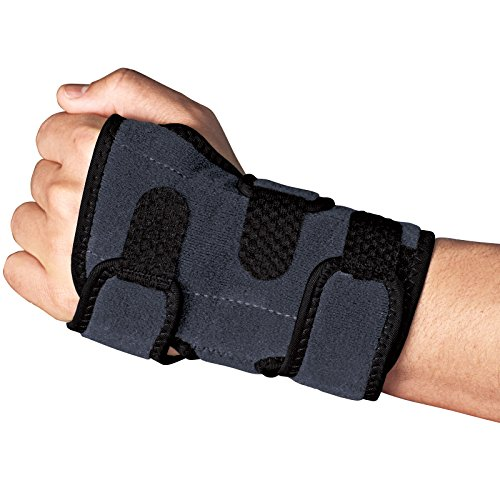 ACE Brand Deluxe Wrist Brace, America's Most Trusted Brand of Braces and Supports, Money Back Satisfaction Guarantee