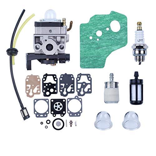 Haishine Carburatore Carb Guarnizione Diaphargm Kit per Honda GX35 HHT35 HHT35S Motore Trimmers...
