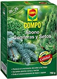 COMPO 750 g Abono setos de larga, tipo de conferas y plantas de hoja perenne, 6 meses de duracin, Negro