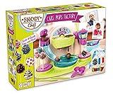 Smoby Chef - Cake Pops Factory - Fabrique à Cake Pop + Livre de Recettes - Atelier de Cuisine Enfant - Nombreux Accessoires - Dès 5 Ans - 312103
